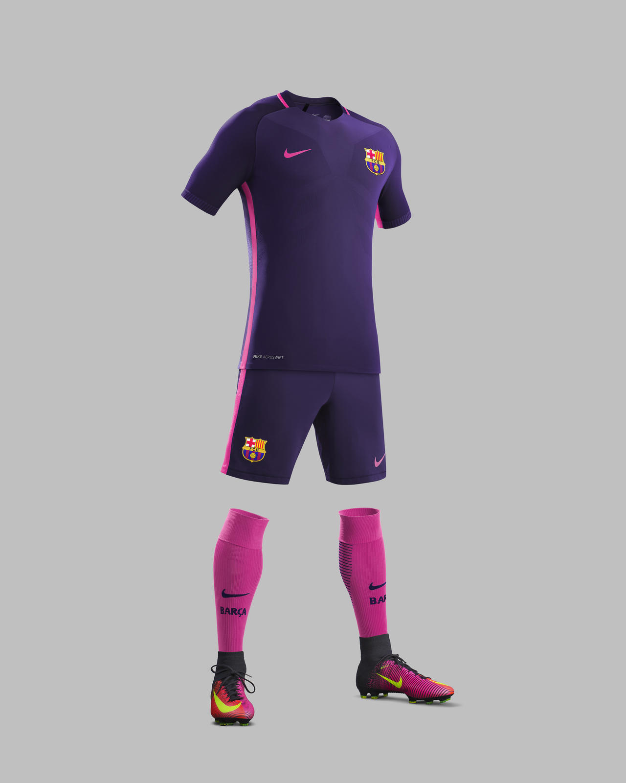best service 7bba6 8bd39 FC BARCELONA AWAY KIT 2016-17 - Nike News
