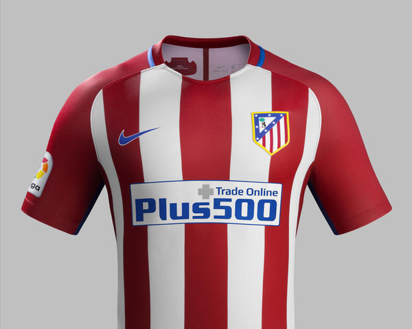 ATLÉTICO DE MADRID HOME AND AWAY KITS 2016-17