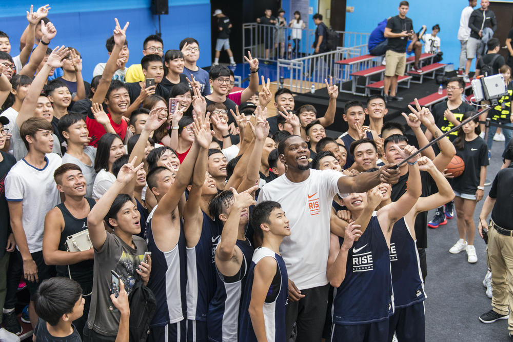 Kevin Durant Energizes Greater China's Basketball Passion