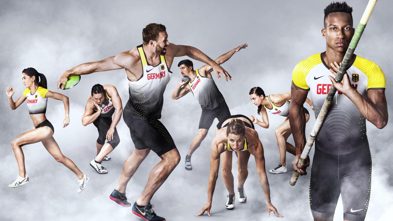 d95261022572a Germany 2016 Nike Vapor Track & Field Kits - Nike News