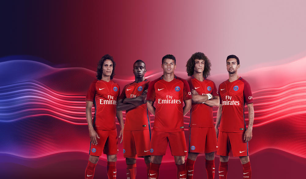Paris Saint-Germain Away Kit 2016-17