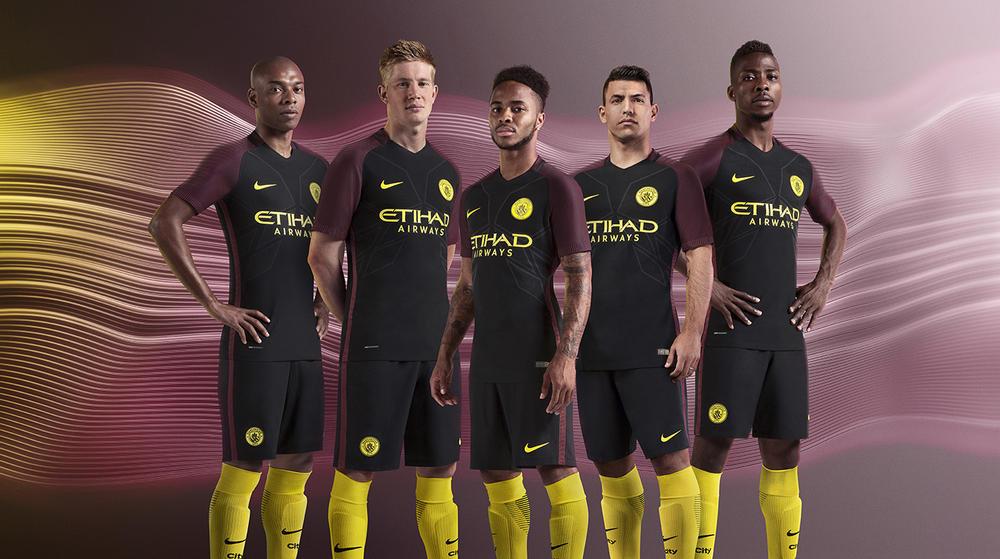 Manchester City Away kit 2016-17