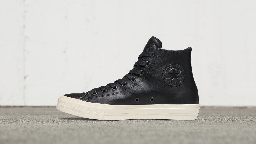 CONVERSE X JOHN VARVATOS CHUCK TAYLOR ALL STAR II COATED LEATHER HIGH TOP