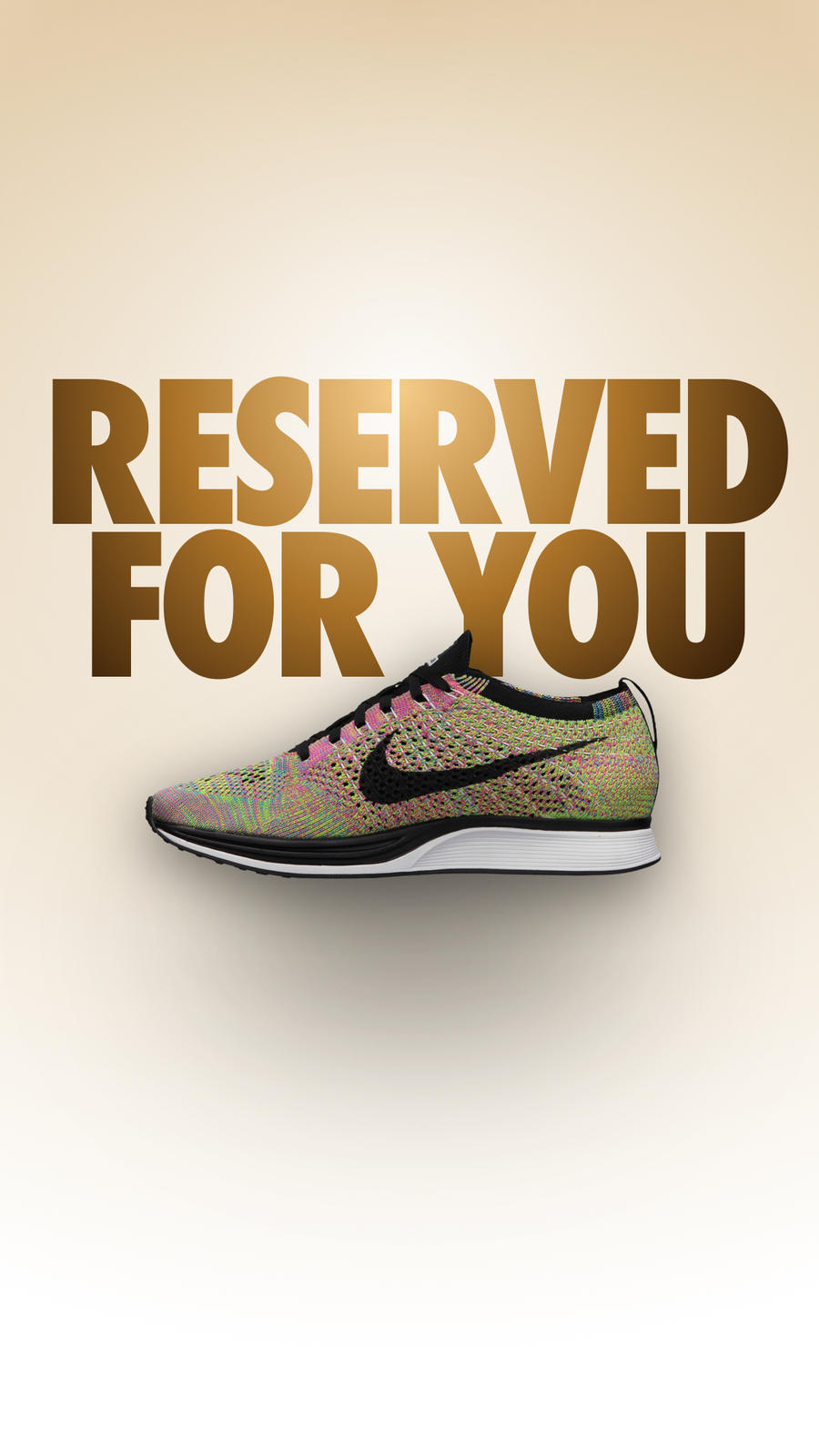 Nike+ app Reserved for You Invitation