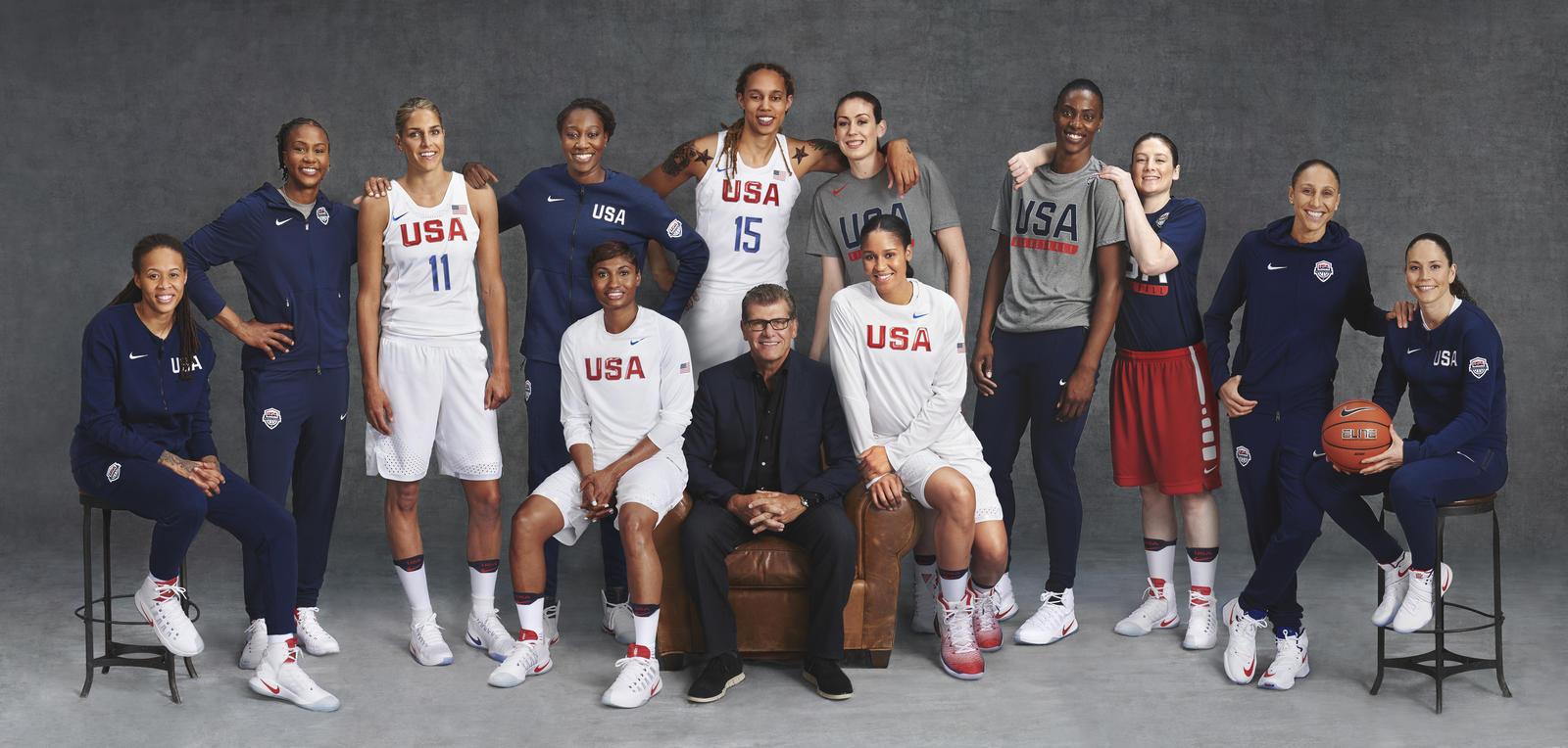 Nike Usa Basketball: 2016 USA Women's Basketball
