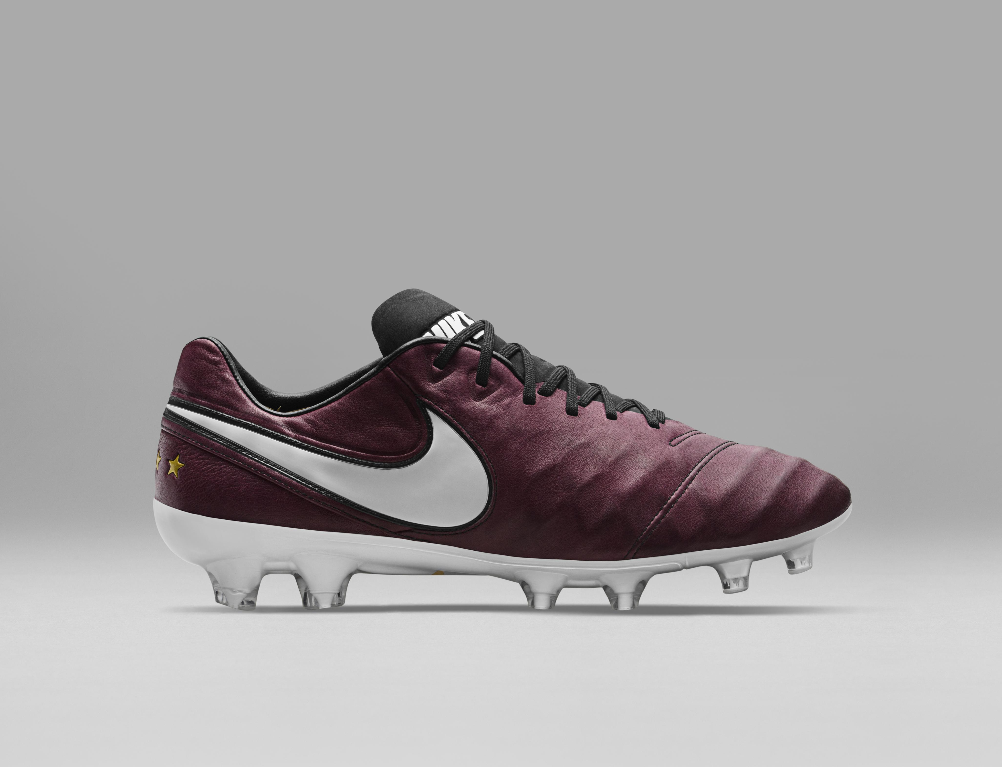 9e9b06e4e Nike Release Beautiful Limited Edition Merlot Pirlo Boots Tiempo Pirlo -  Nike News ...