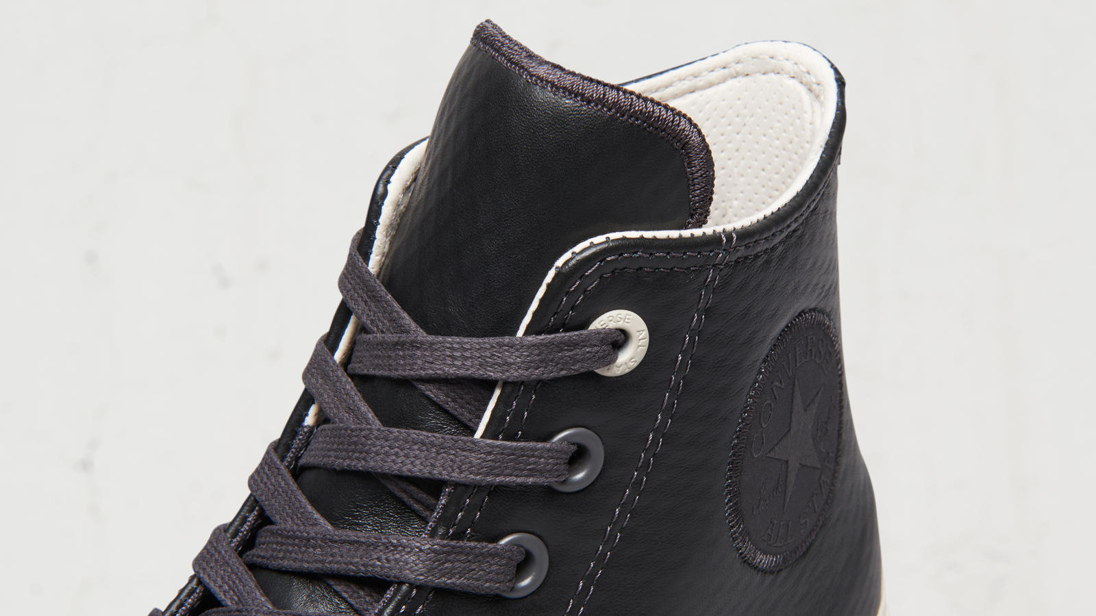 Converse Chuck II Mesh Backed Leather High Top