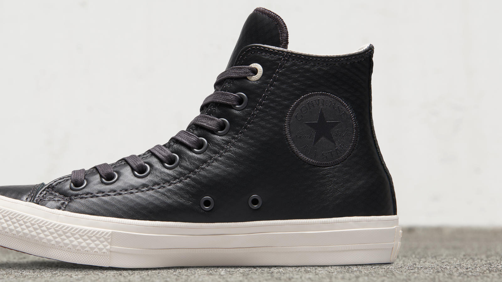 converse chuck ii waterproof mesh backed leather