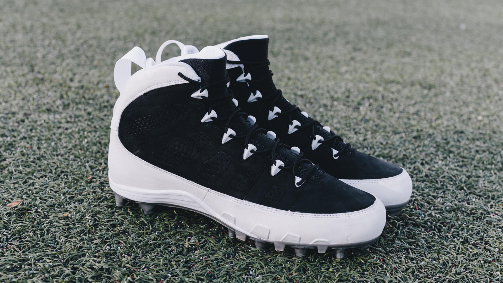 Michael Crabtree Air Jordan IX PE Cleat