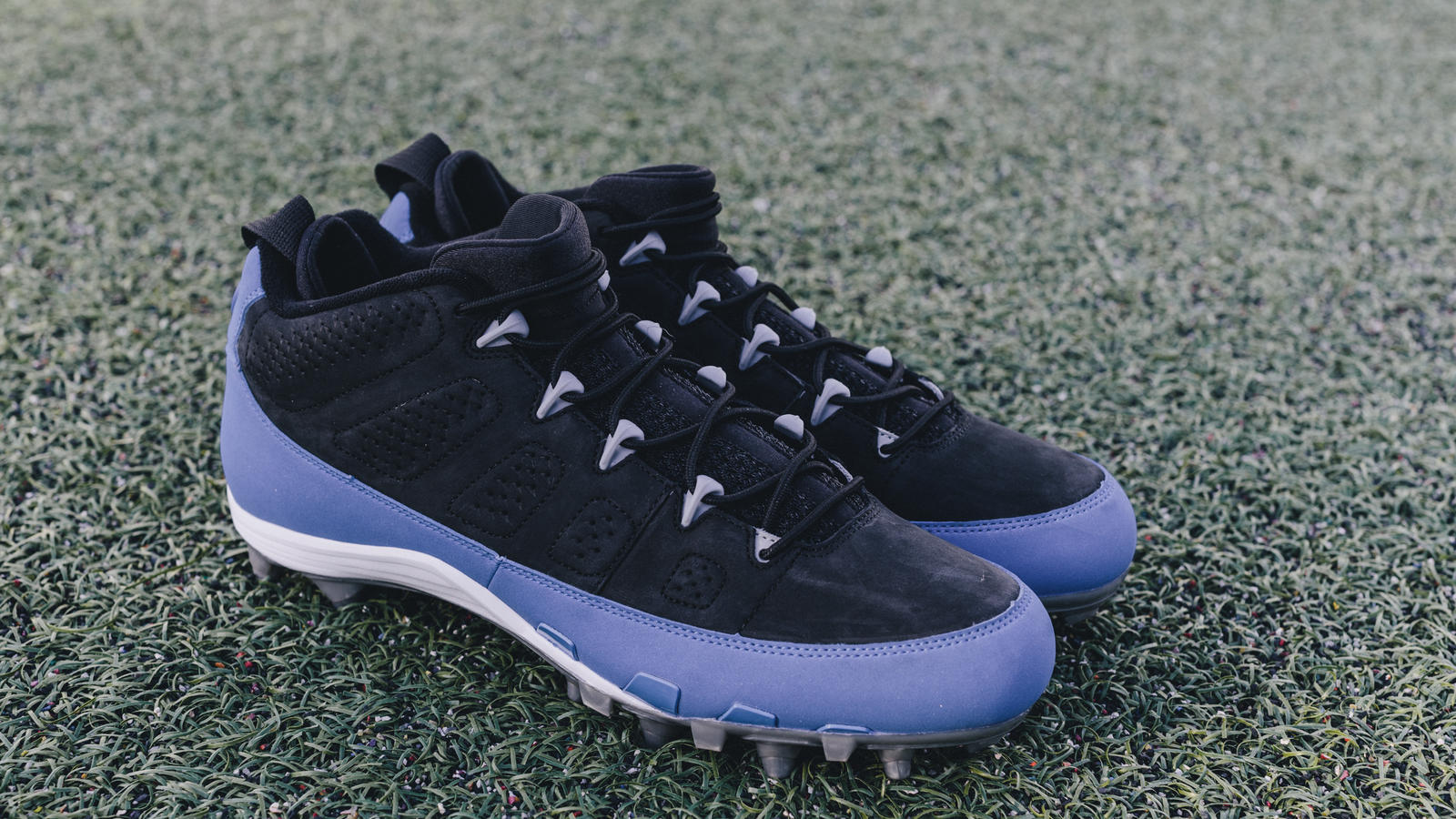 Golden Tate Earl Thomas Air Jordan IX PE Cleats