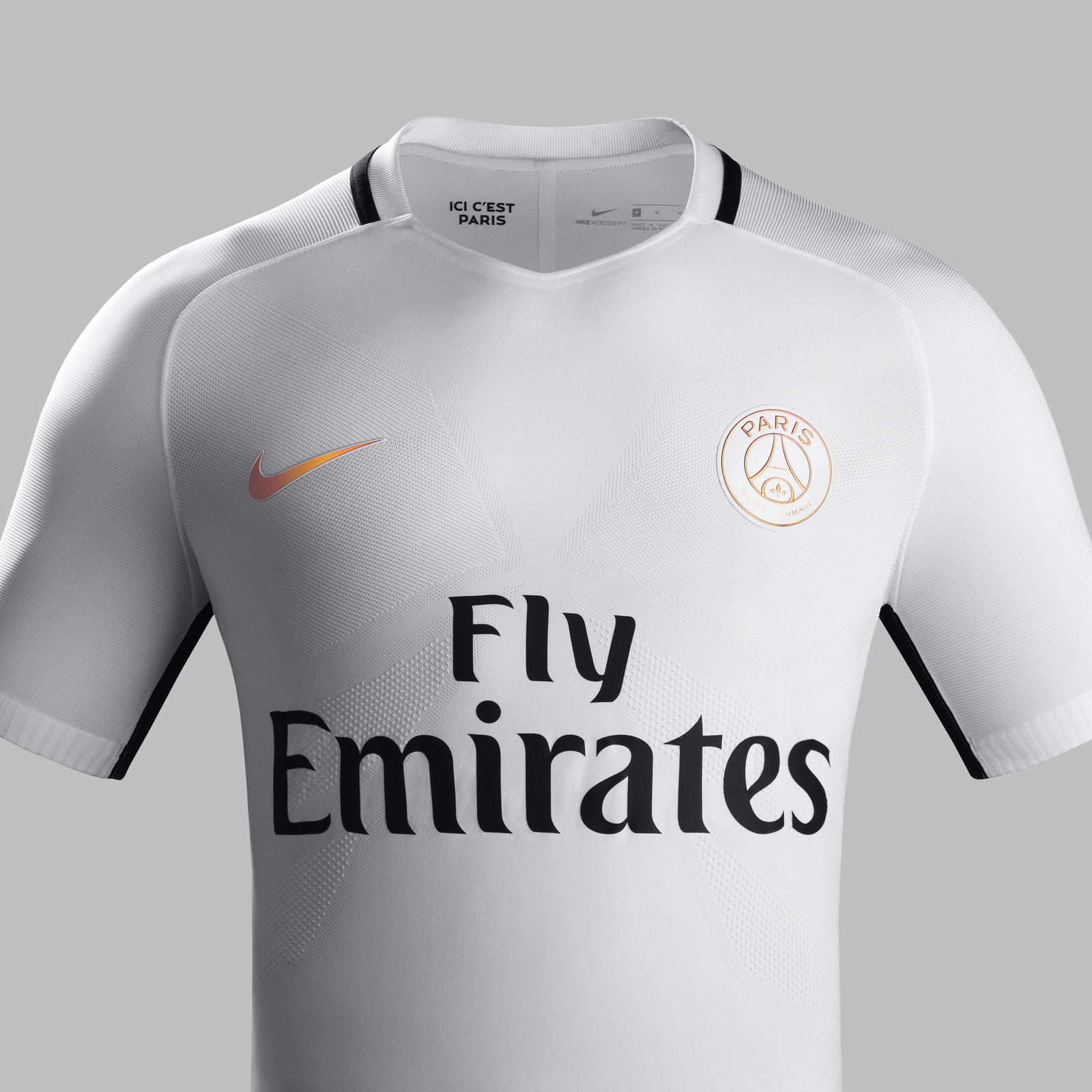 Fa16 CK Comms 3RD Front Match PSG R. PARIS Saint-Germain 3rd kit 2016-2017 Crest.  Fa16 CK Comms 3RD Venting Match PSG R fa2dd9e856caf