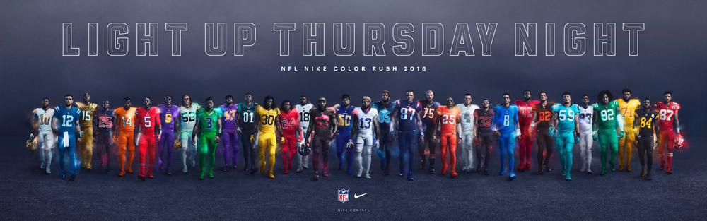 Nike and NFL Light Up Thursday Night Football