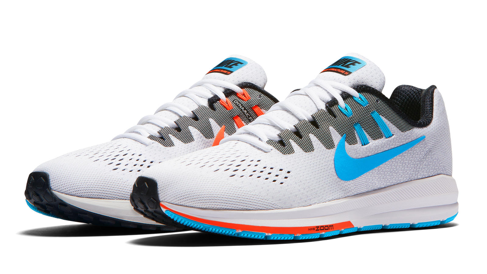The new Nike Air Zoom Structure 20, in its anniversary colorway