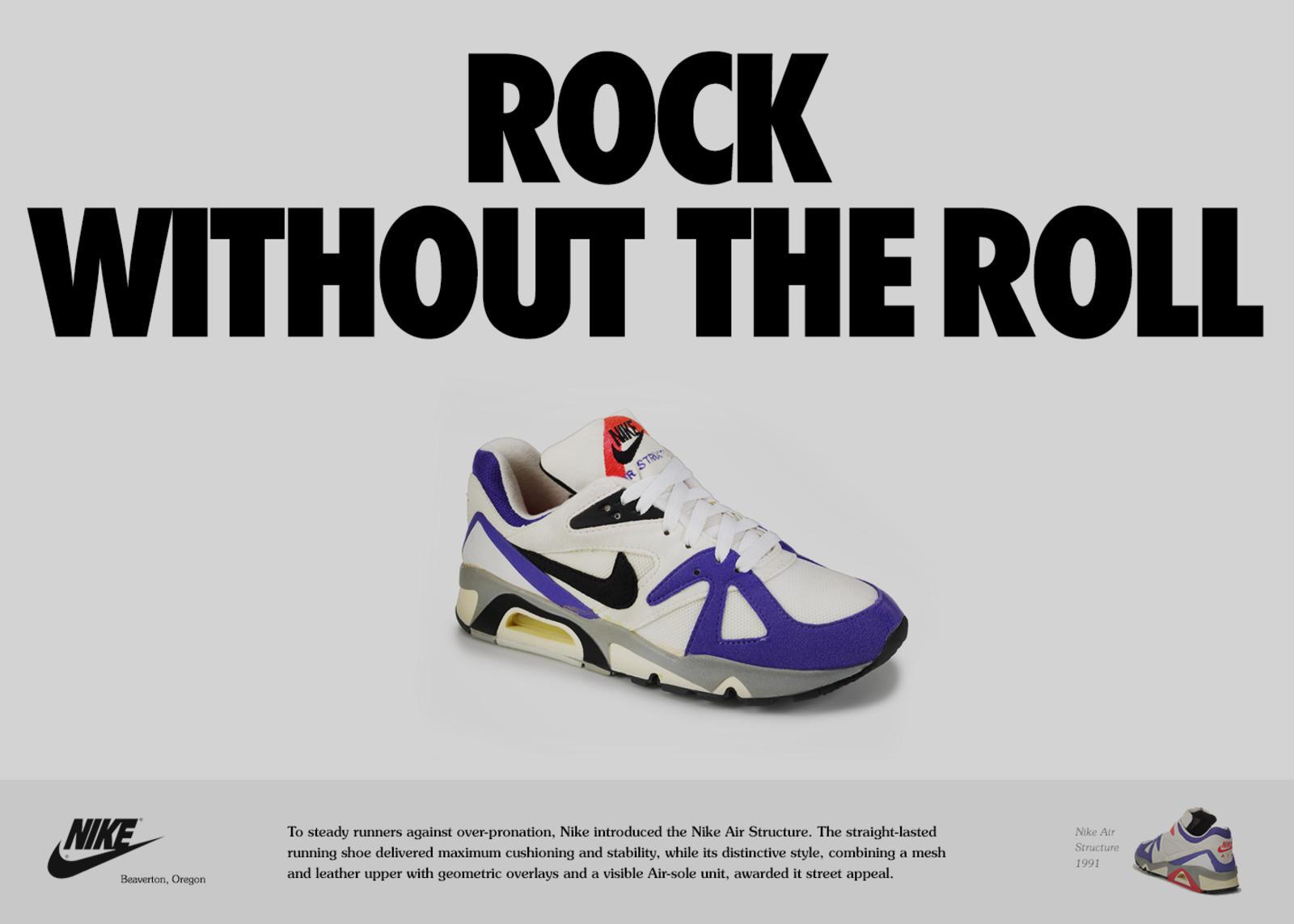 grand choix de 213ed 097fe Structure 20: A Timeline - Nike News