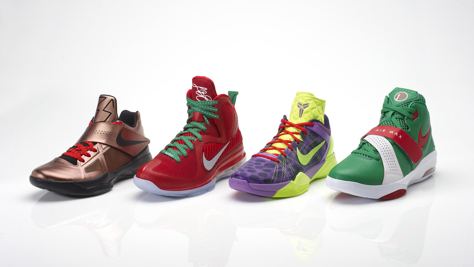 Nike Basketball introduces Christmas colors - Nike News