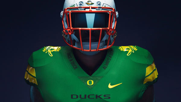 "University of Oregon ""Once a Duck"" Football Uniforms"