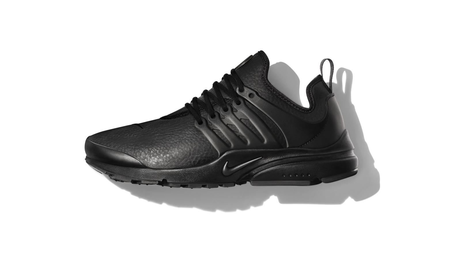 fashion classic style factory price coupon nike air presto black leather 98be4 838f2