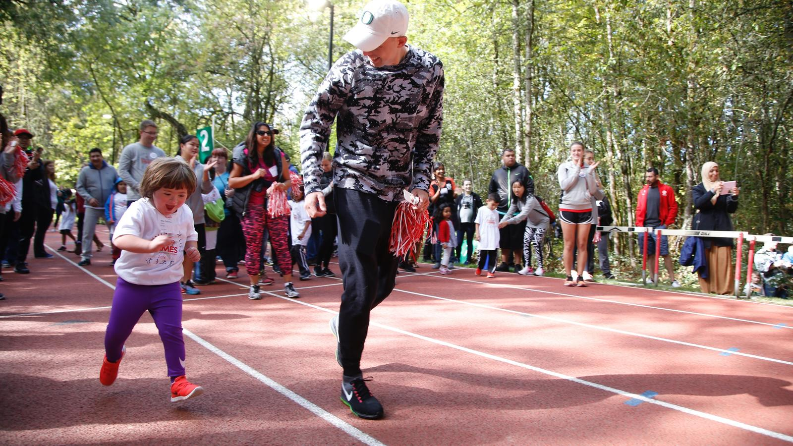 Nike Inspires Over 500 Athletes at 10th Special Olympics ...