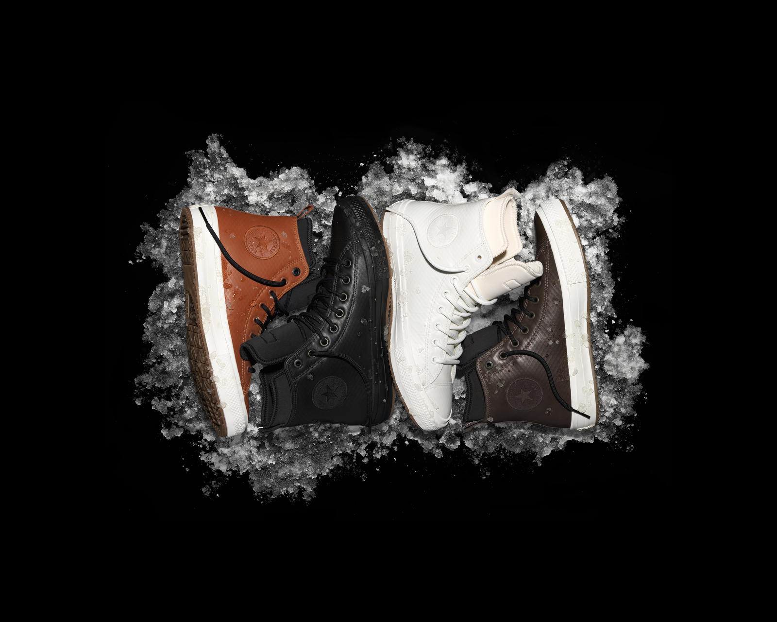 376cf640916d Fh16 As Chuck Ii Boot Group On Black. The Fall Holiday 2016 Converse  Counter Climate Boot collection ...