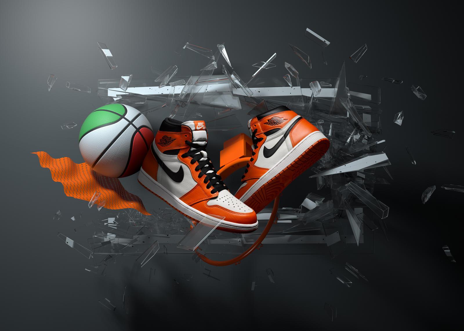 "Air Jordan I ""Shattered Away"""