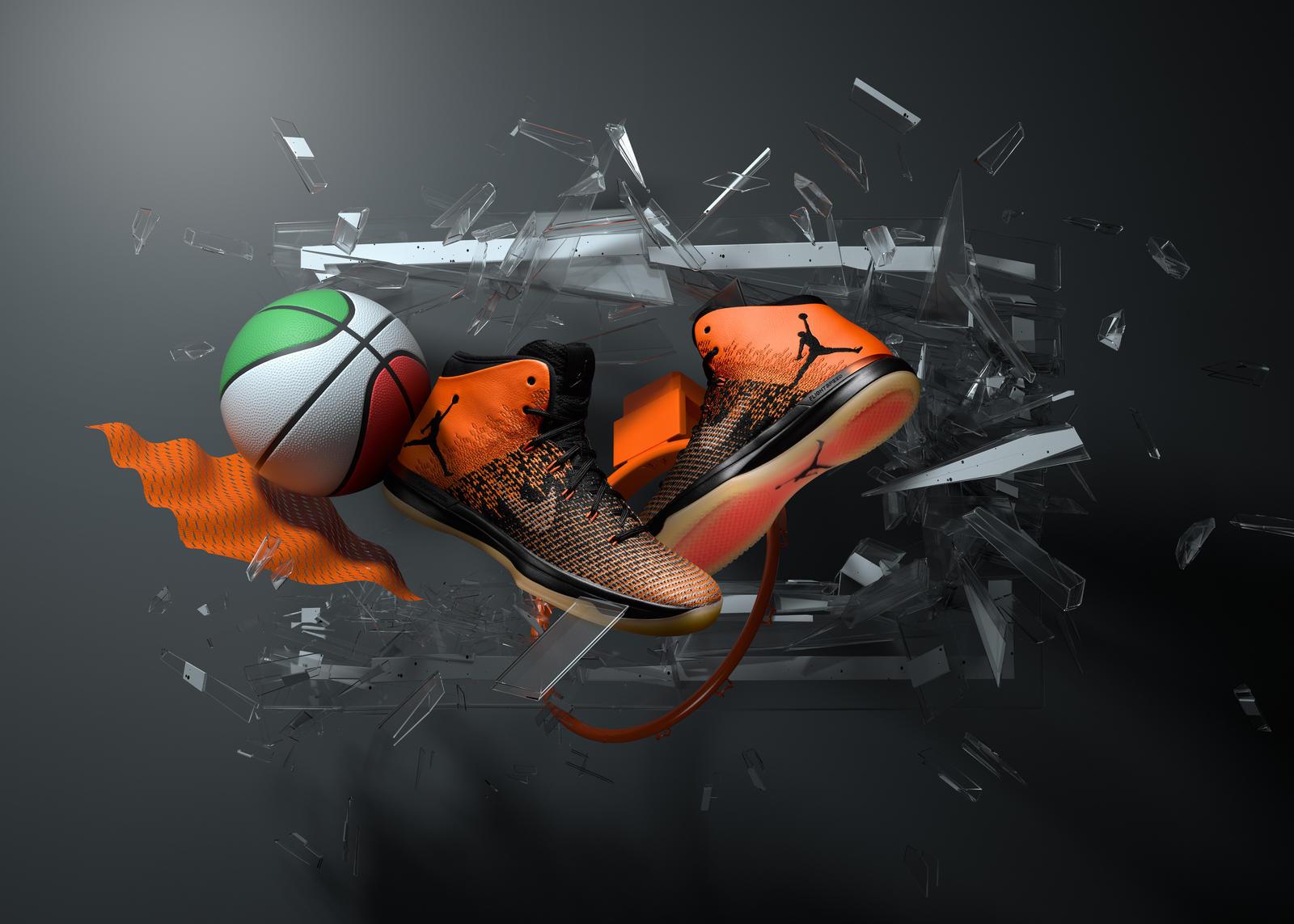 "Air Jordan XXXI ""Shattered Backboard"""