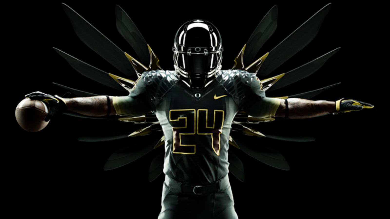 best service 7c74c 91b53 Nike unveils new integrated uniform system for Oregon Ducks ...