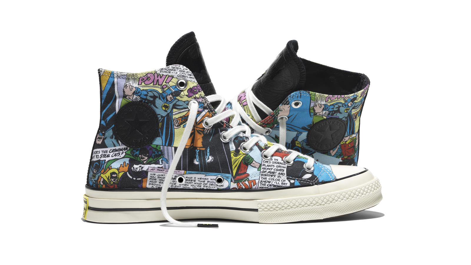 batman converse shoes dc x comic artwork white background