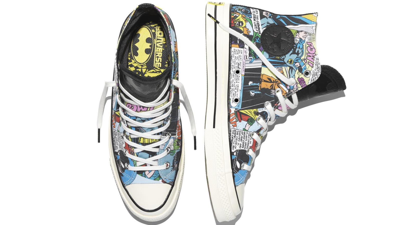 Converse Unveils Chuck Taylor All Star '70 DC Comics Batman