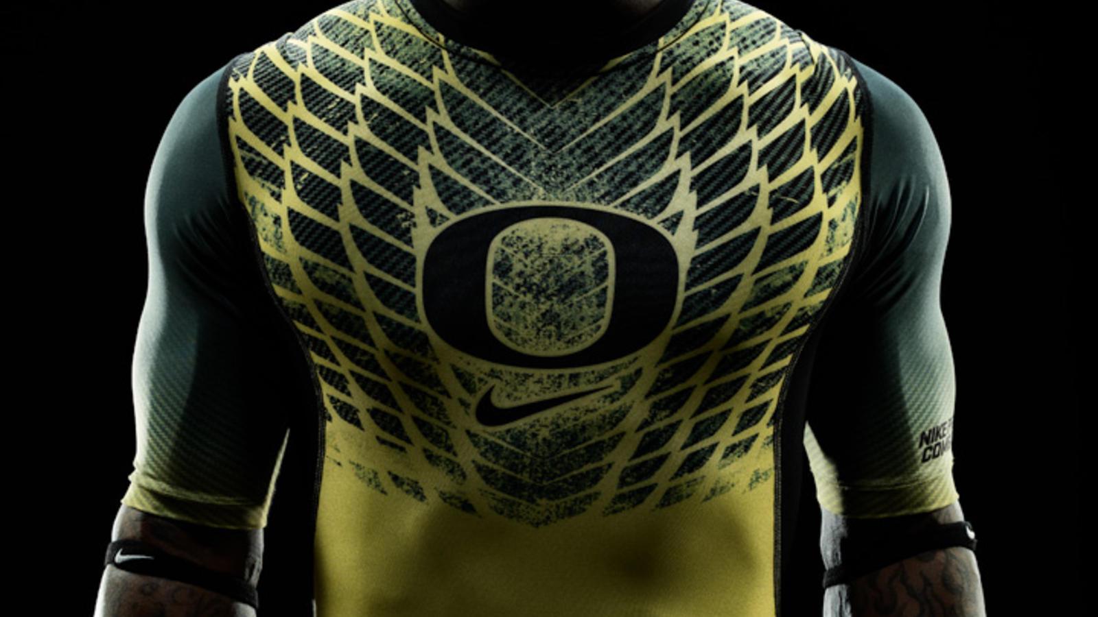 best service 05e93 91248 Nike unveils new integrated uniform system for Oregon Ducks ...