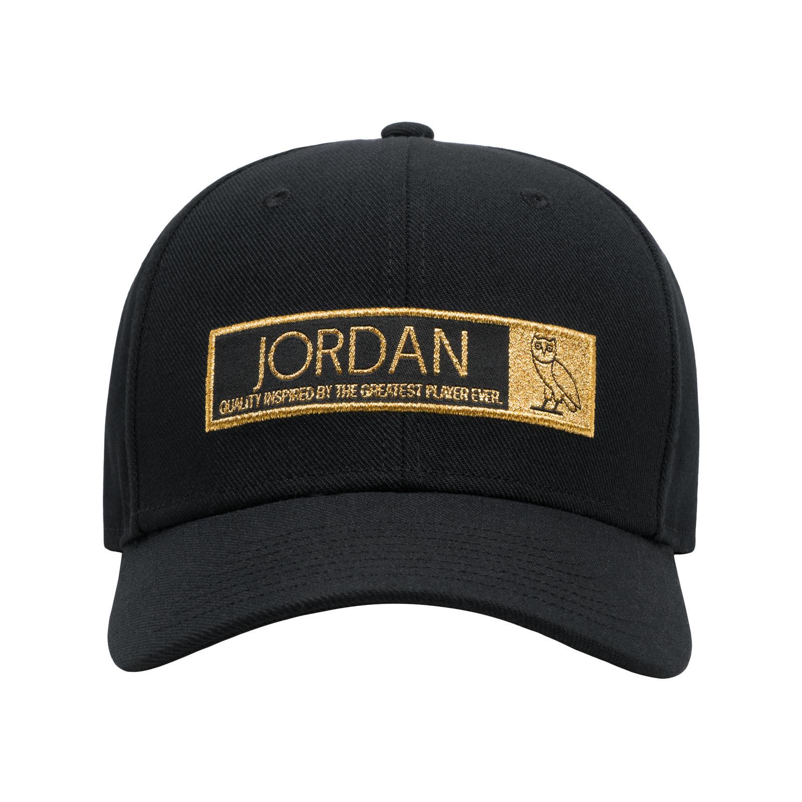 Jordan12%20 Logo%20 Hat%20 Black%20 Front 2