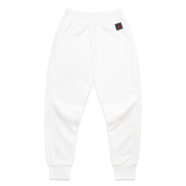 white jordan sweatpants
