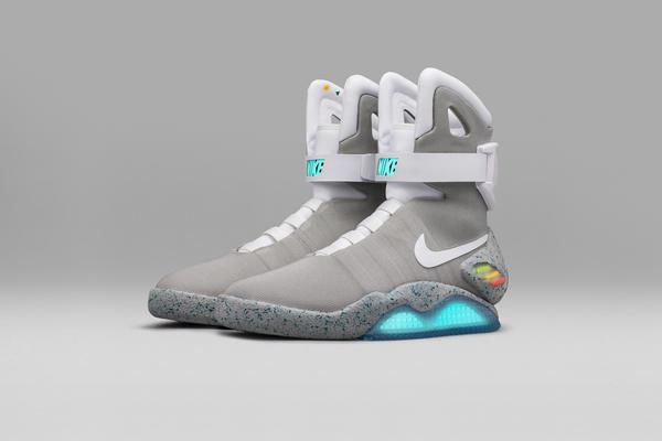 Futuristic Nike Mag Shoes