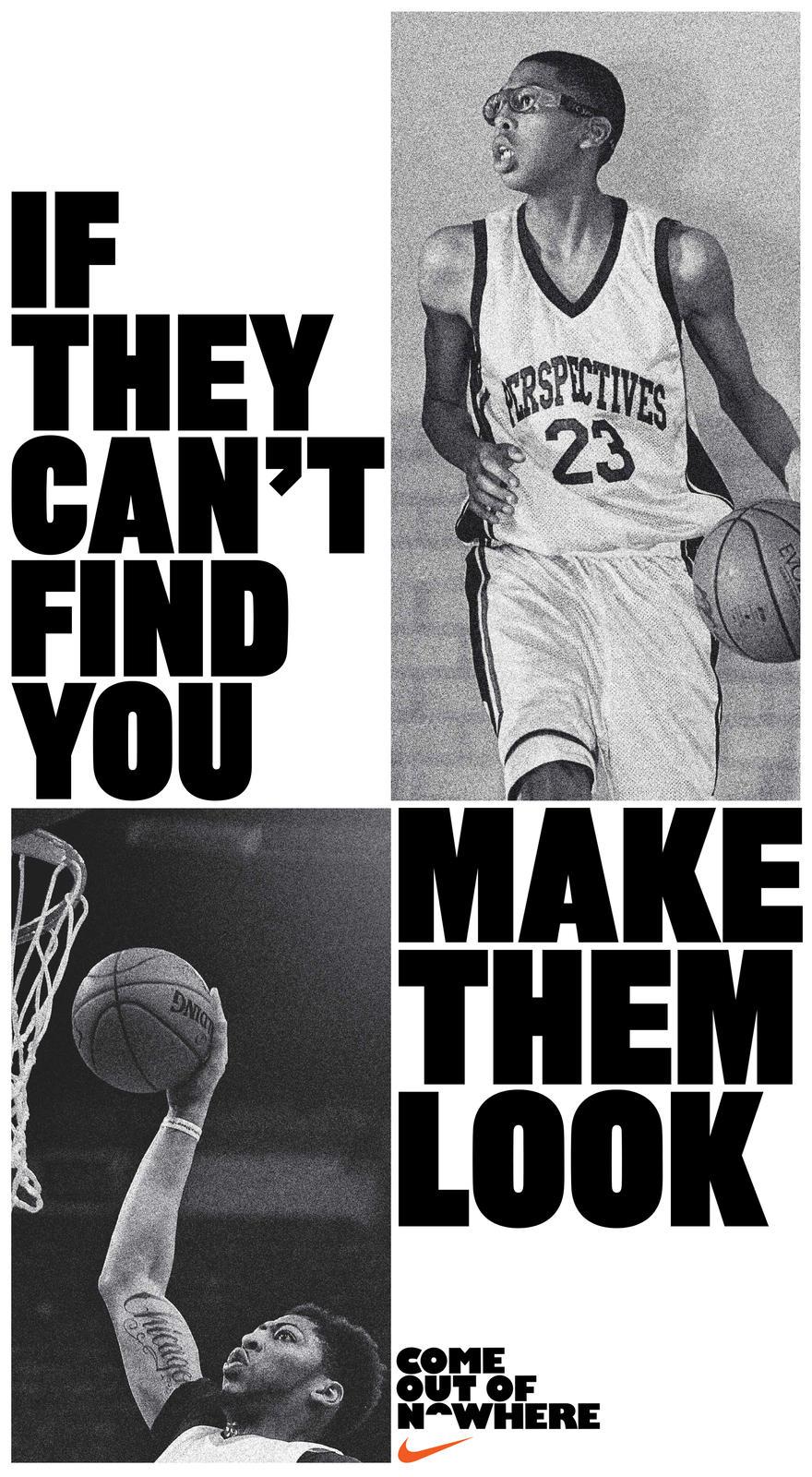 "Abastecer ángulo hueco  Nike Basketball Opens Season With ""Come Out of Nowhere"" Campaign - Nike News"