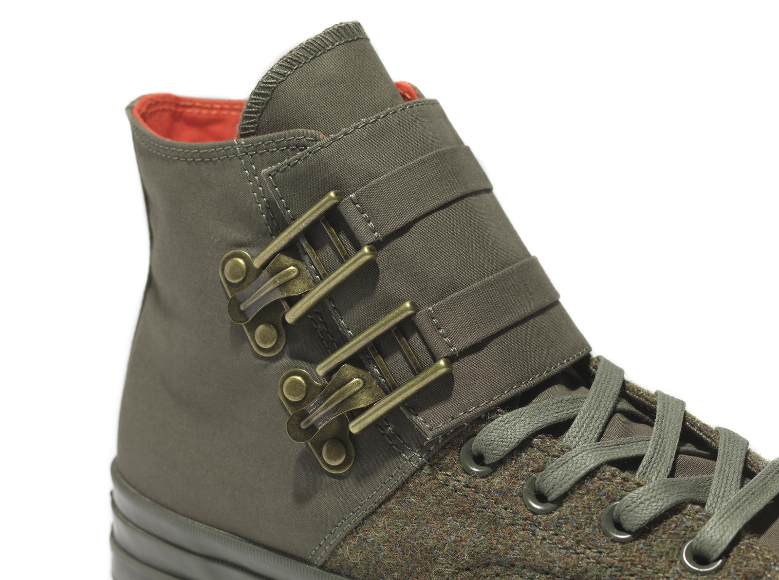 47fd01a6c70f Fh16 Fs Ctas70 Nigel Cabourn Green Detail1 153333 C. The new release  features a Ventile ® and Harris Tweed ...