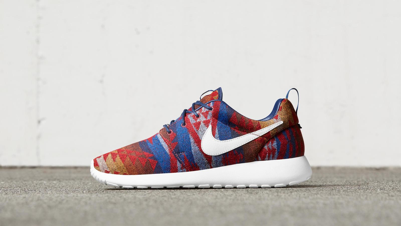 Nike Roshe Un Premium Pendleton Pas Cher