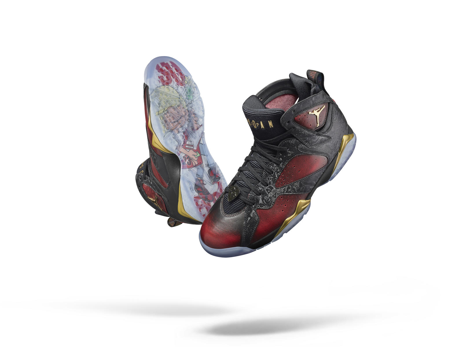timeless design 0a548 24ccb Introducing the 13th Doernbecher Freestyle Collection. Damien Phillips  designed the Air Jordan VII ...