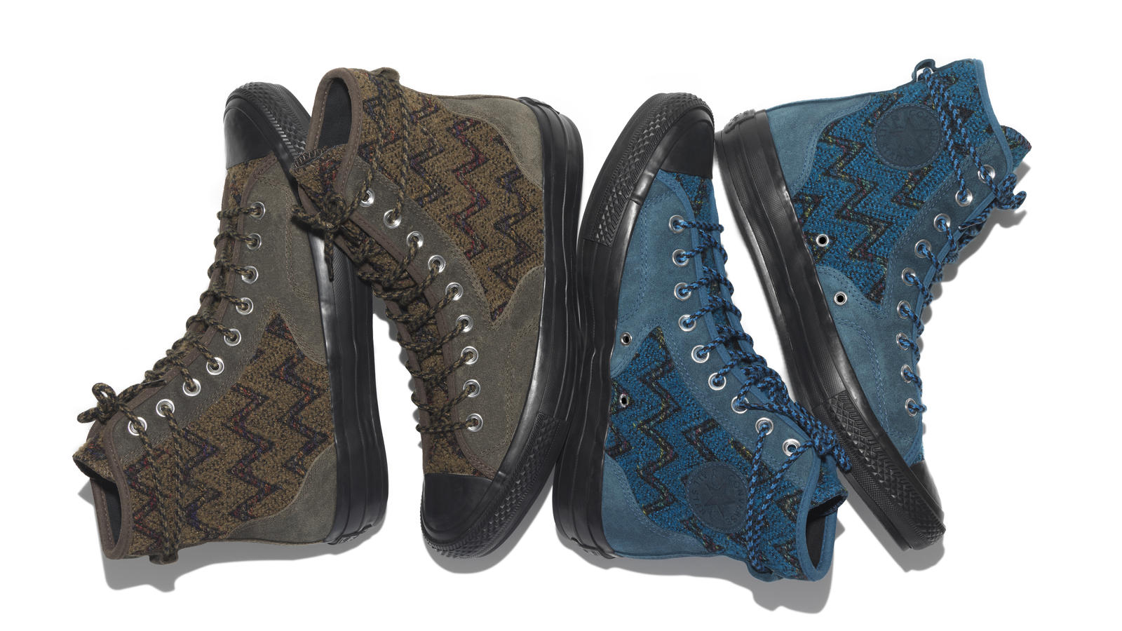 "d1038a7daf The New Converse Chuck Taylor All Star  70 x Missoni ""Hiker"" - Nike News"