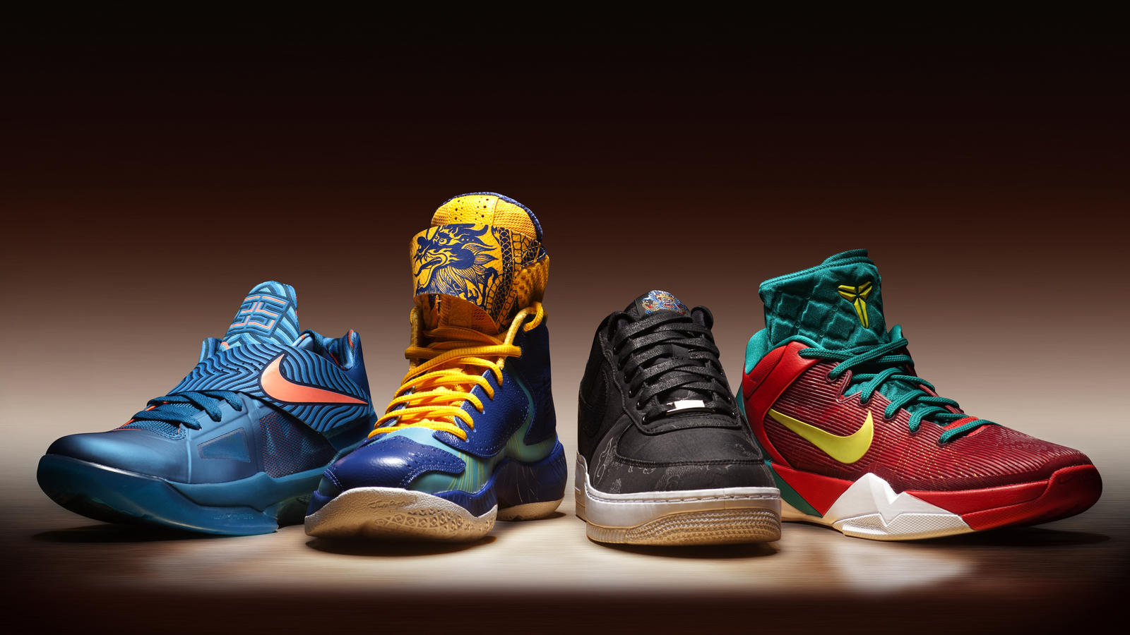 sports shoes 8d0f9 ebad7 Nike  Year of the Dragon  Collection