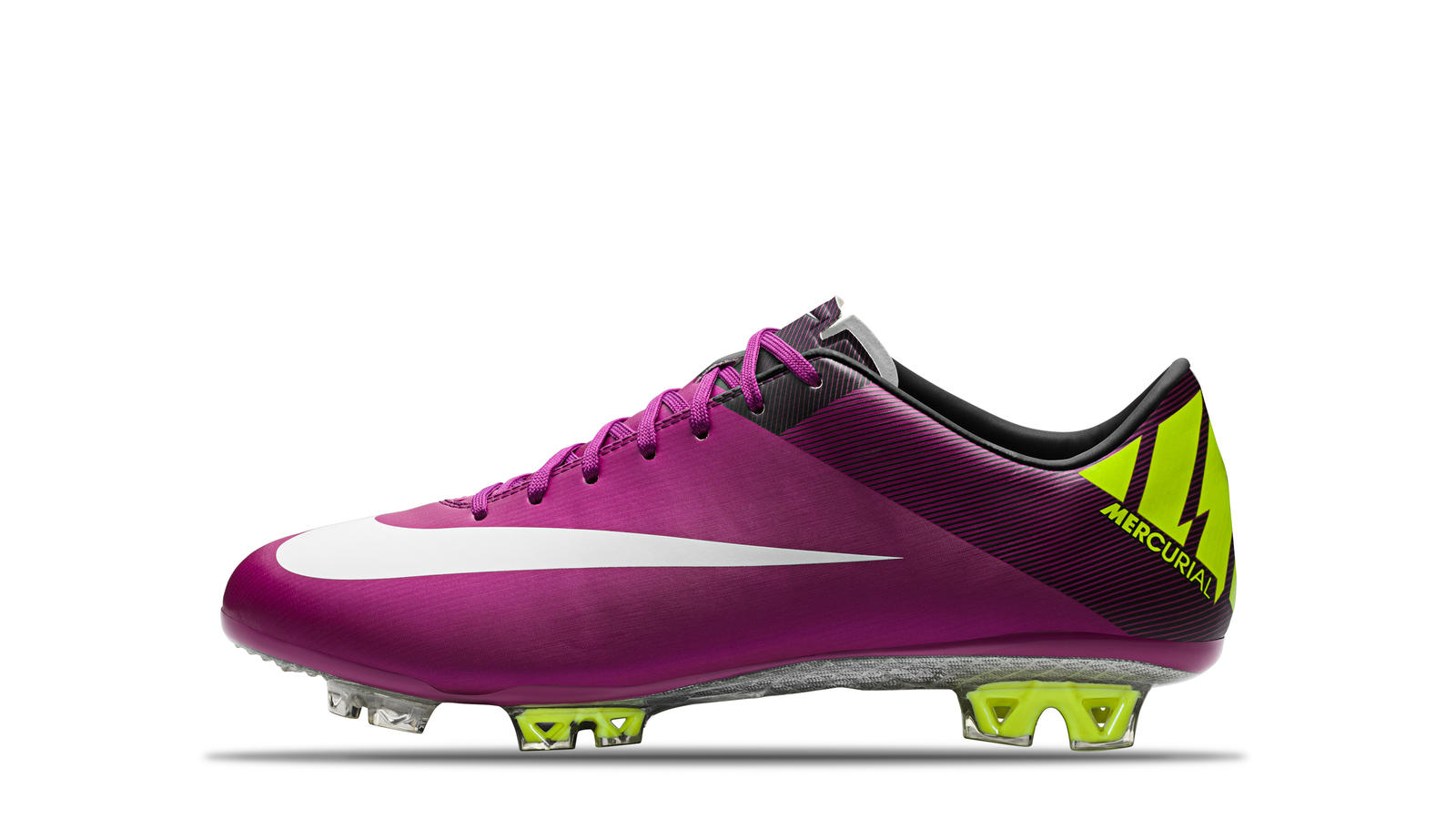 2011 Mercurial Superfly III Red Plum Windchill Volt Black