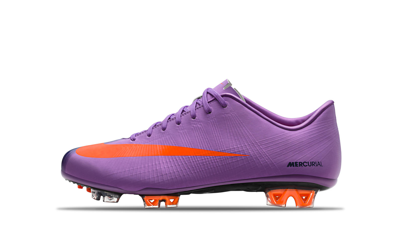 2010 Mercurial Superfly II Violet Poppy Obsidian Orange