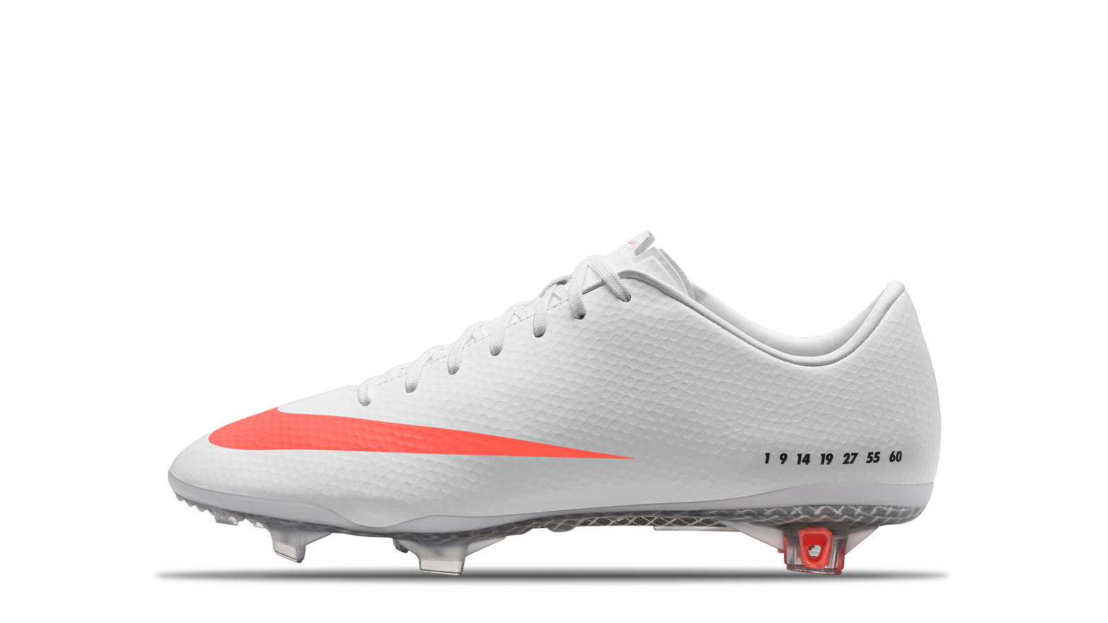 2013 CR7 SE Mercurial Vapor 9 White Black Total Orange