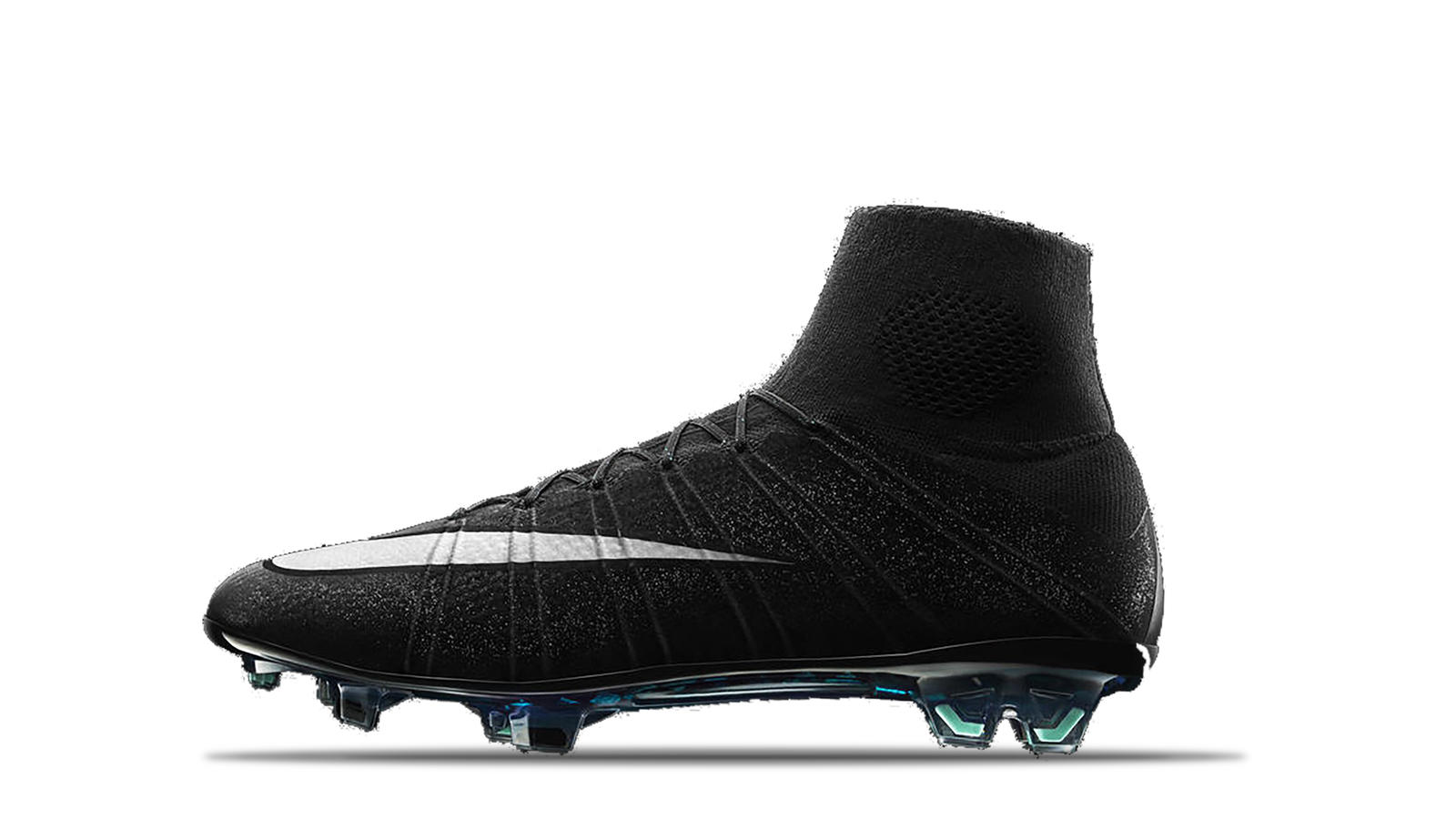 2014 Mercurial Superfly IV CR7 Gala Night Black White Neo Turquoise