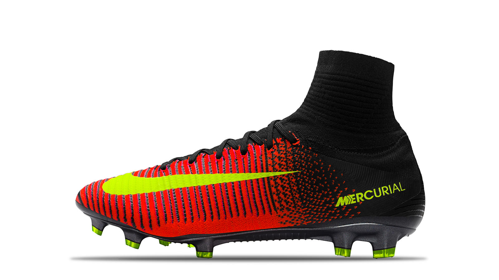 2016 Mercurial Superfly V Total Crimson Black Yellow