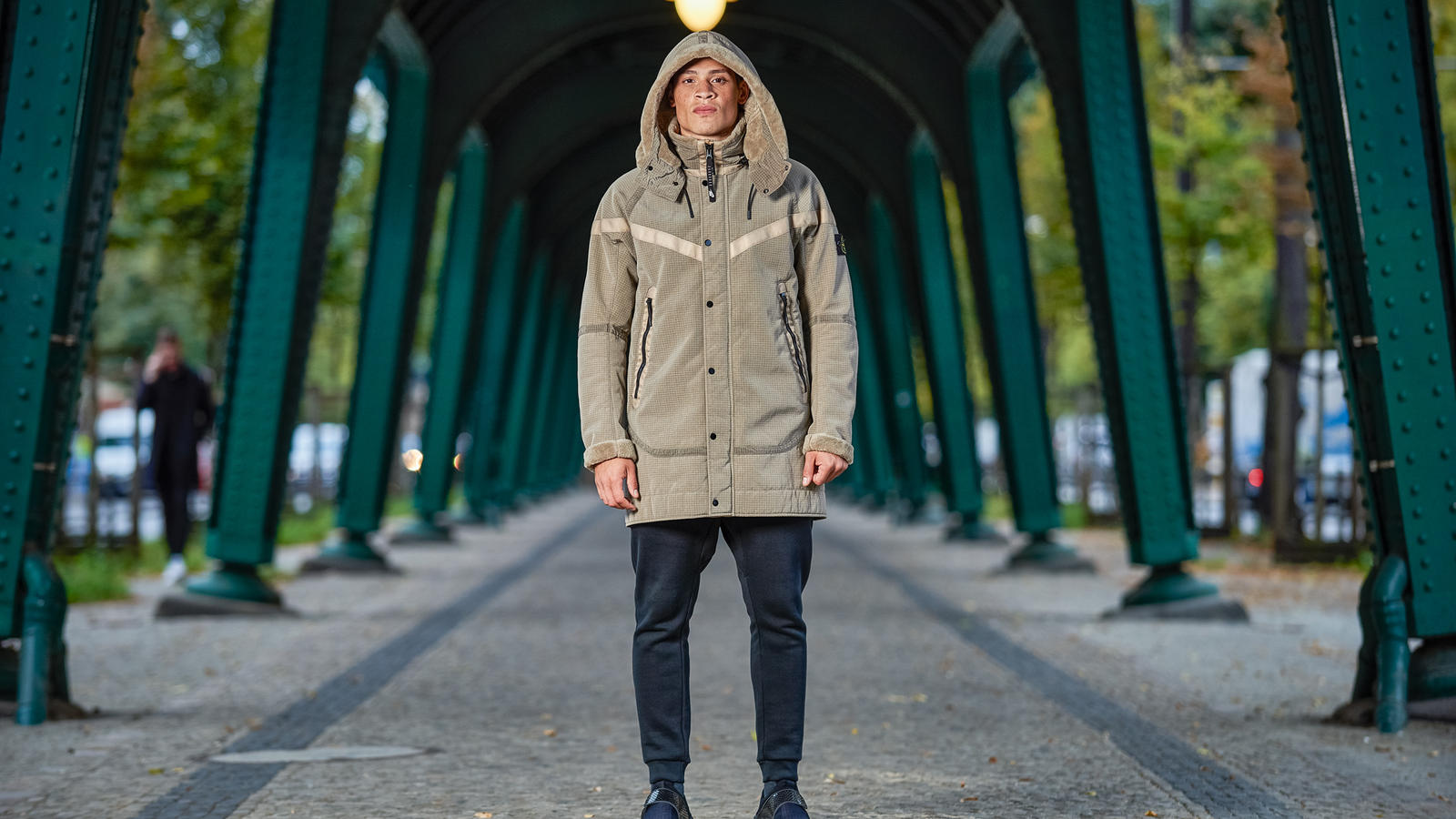 official photos 46211 47fbb For the past two seasons, NikeLab and Stone Island have collaborated to  reimagine the Nike Windrunner. The first, for Holiday 2015, combined Stone  Island s ...