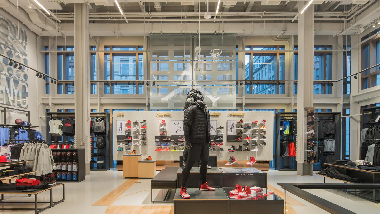 Jordan at Nike Soho