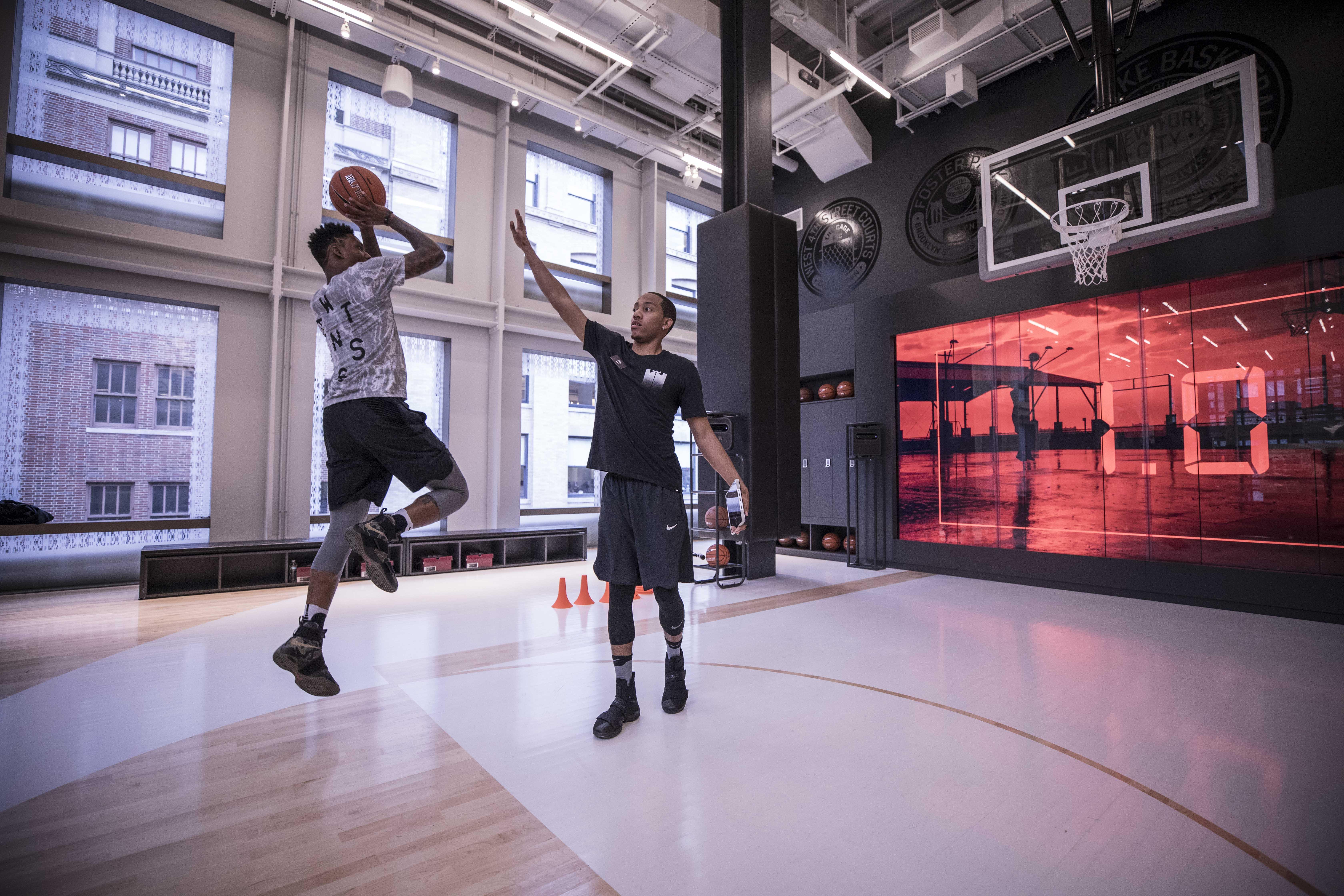 basket nike training