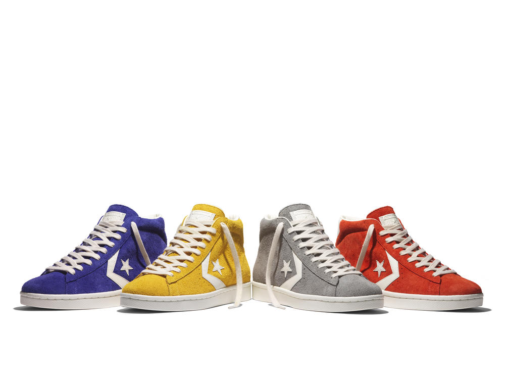 """8d74c6f265f7d9 Converse Launches The Pro Leather  76 in """"Vintage Suede"""""""
