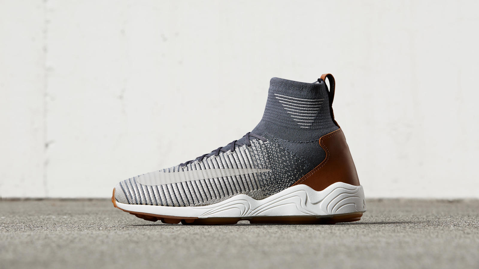 Nike Zoom Mercurial Flyknit Blue White