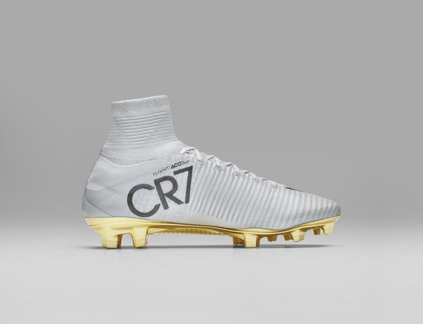 online store 48937 5b142 Ronaldo Cleats 2017 Cristiano Ronaldo Blue Shoes Gold White