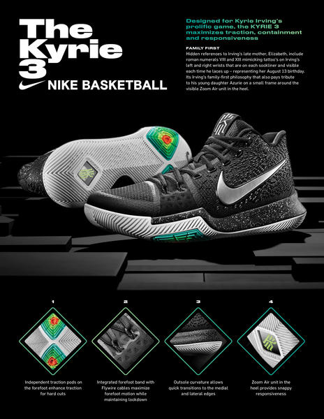 KYRIE 3 Built for Kyrie Irving\u0027s Prolific Game